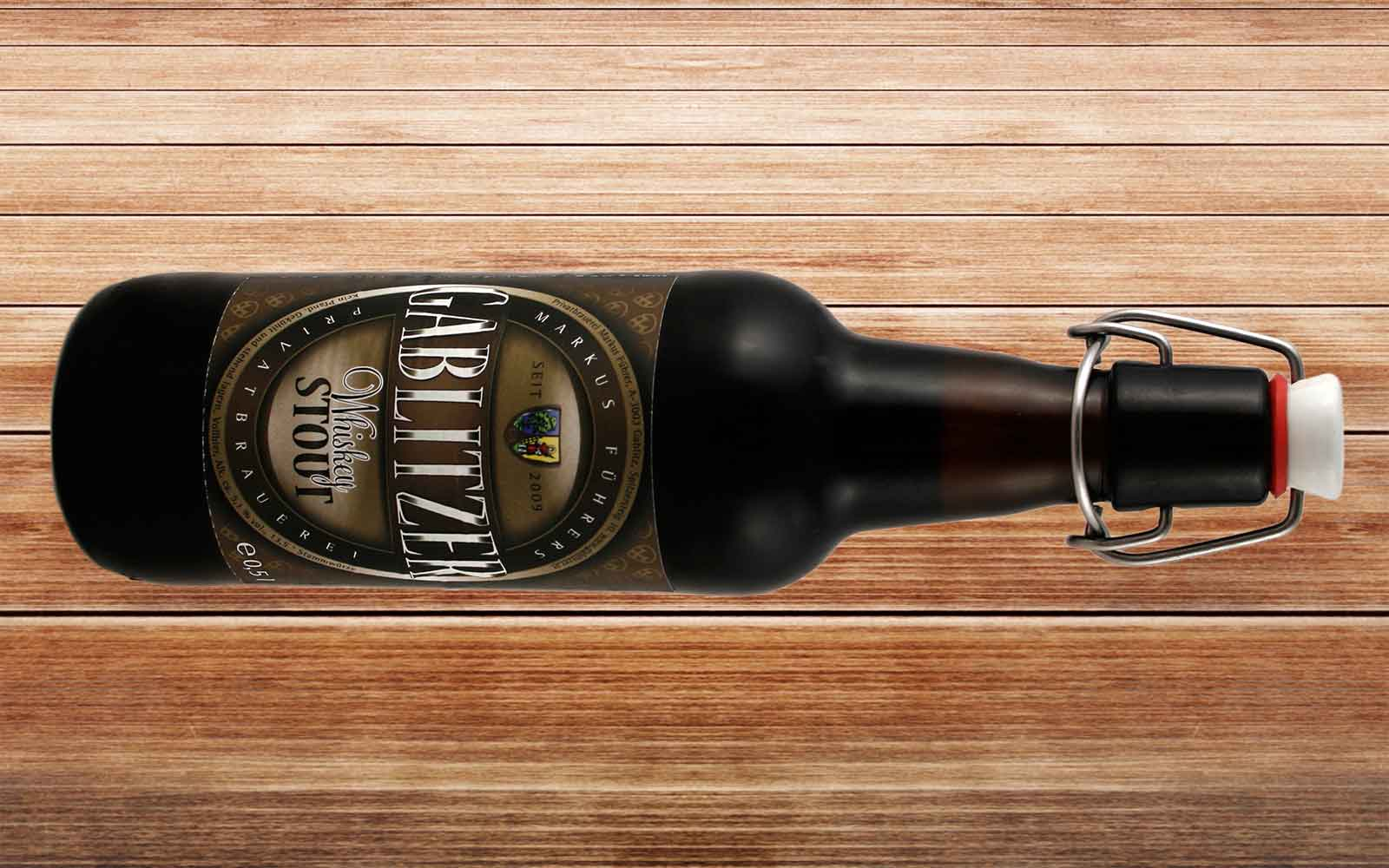 Ein Whiskey Stout aus der Gablitzer Privatbrauerei von Markus Führer