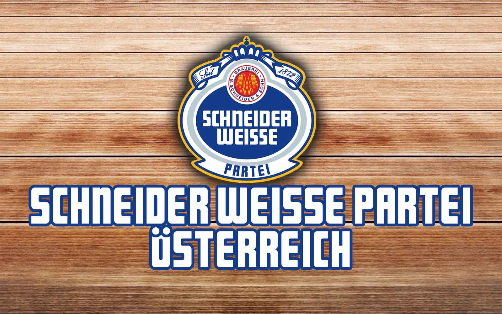 Schneider Weisse Partei Österreich – Endlich eine Alternative zur Wienwahl?