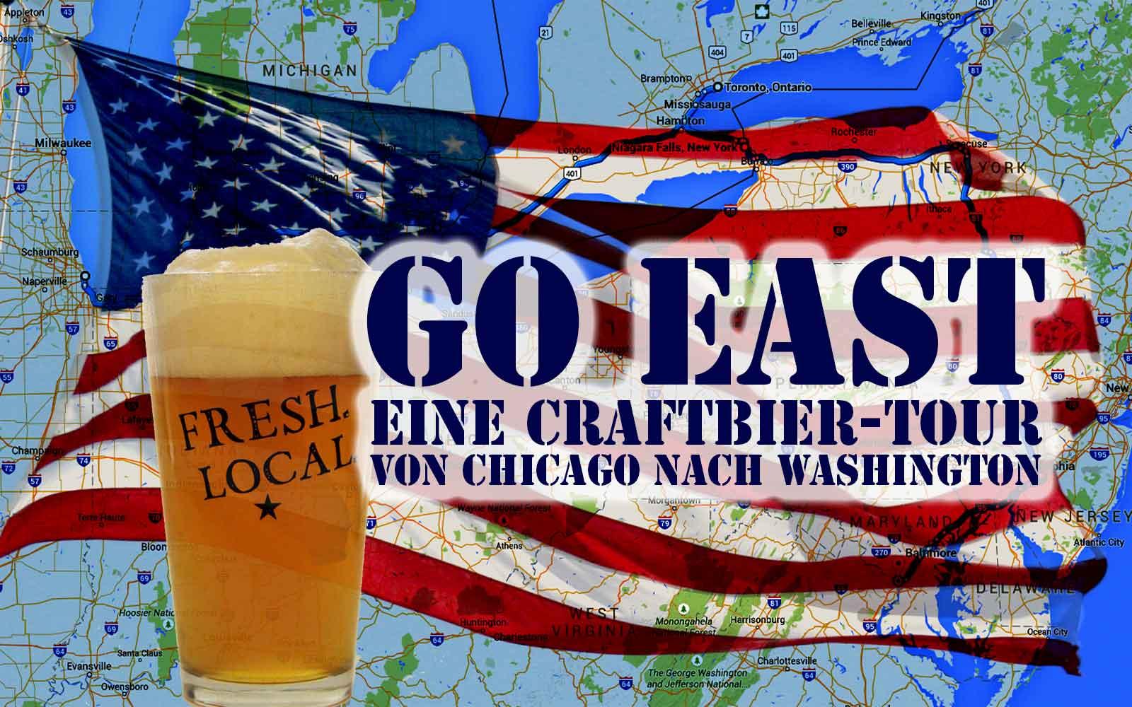 Live Blog: USA Craftbier Tour von Chicago nach Washington