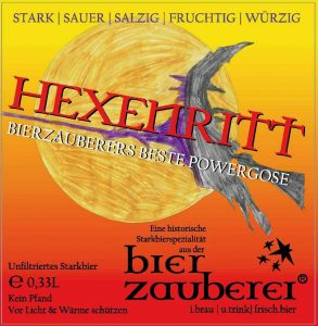 Hexenritt-Etikett