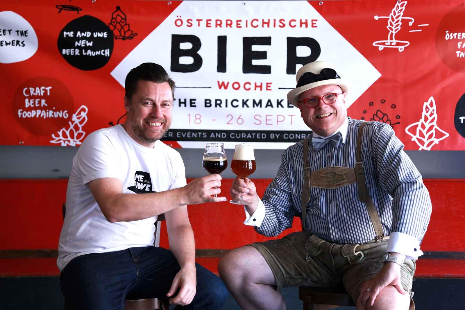 "Brian bringt ""Reini the Roaster"" nach Wien"