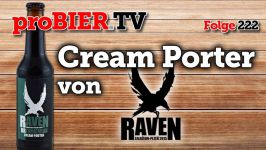 proBIER.TV – Cream Porter von Raven | #222 | Craft Beer Review