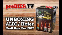 ALDI und Hofer Craft Beer Box | proBIER.TV – Craft Beer Review #330 [4K]