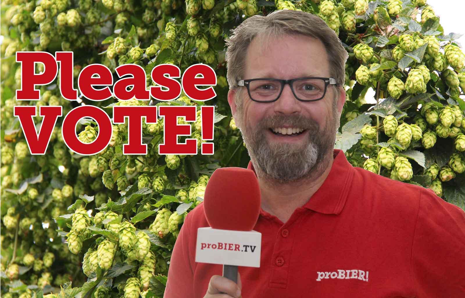 """Nominiert für """"Bier Journalist"""" beim Beerkeeper Award"""