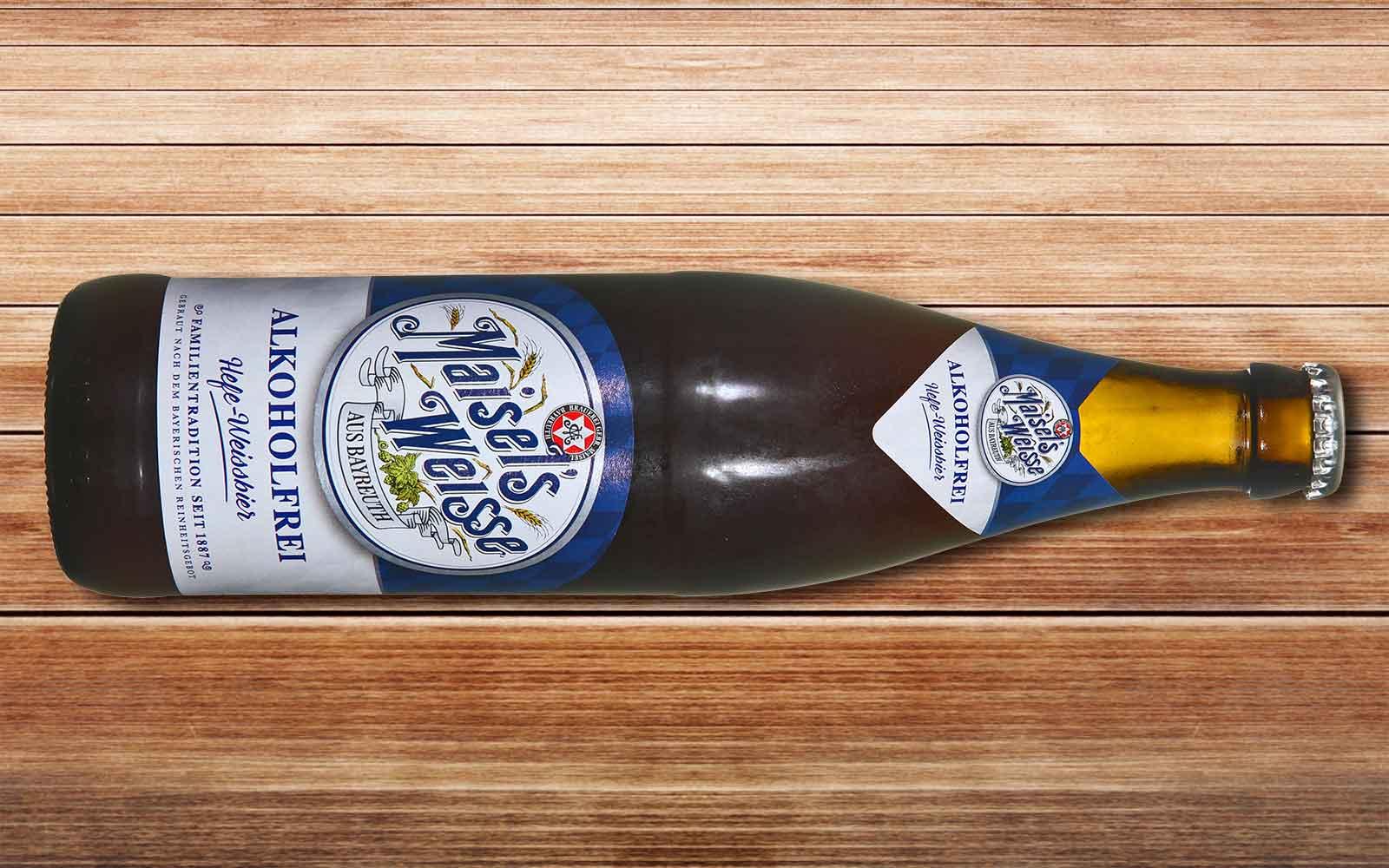 Maisels Weisse in der alkoholfreien Version