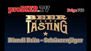 Schürzenjäger von Dirndl Bräu | proBIER.TV – Craft Beer Review #760 [4K]