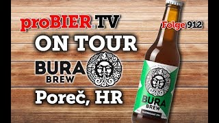 ON TOUR bei Bura Brew | proBIER.TV – Craft Beer Review #912 [4K]