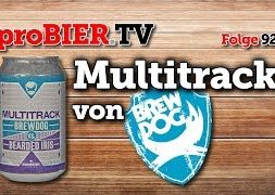 Multitrack von Brewdog | proBIER.TV – Craft Beer Review #923 [4K]