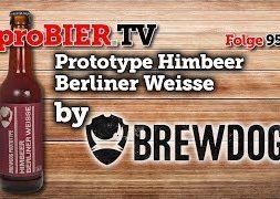 Himbeer Berliner Weisse von Brewdog   proBIER.TV – Craft Beer Review #959 [4K]