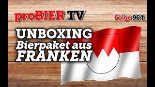 UNBOXING Bierpaket aus Franken | proBIER.TV – Craft Beer Review #964 [4K]