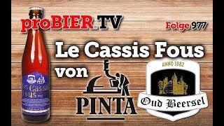 Le Cassis Fous von Pinta und Oud Beersel | proBIER.TV – Craft Beer Review #977 [4K]