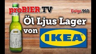 Öl ljus lager von IKEA | proBIER.TV – Craft Beer Review #960 [4K]