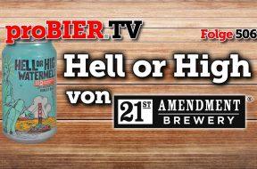 21st Amendment Brewing – Wassermelone gegen Prohibition