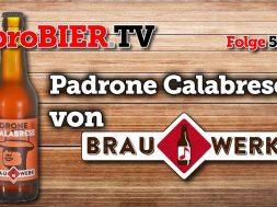 Padrone Calabrese von Brauwerk | proBIER.TV – Craft Beer Review #525 [4K]