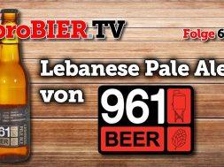 961 Beer macht ein Lebanese Pale Ale – aber nicht 08/15