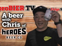 A beer with Chris of Heroes | proBIER.TV – Craft Beer Review #903 [4K]