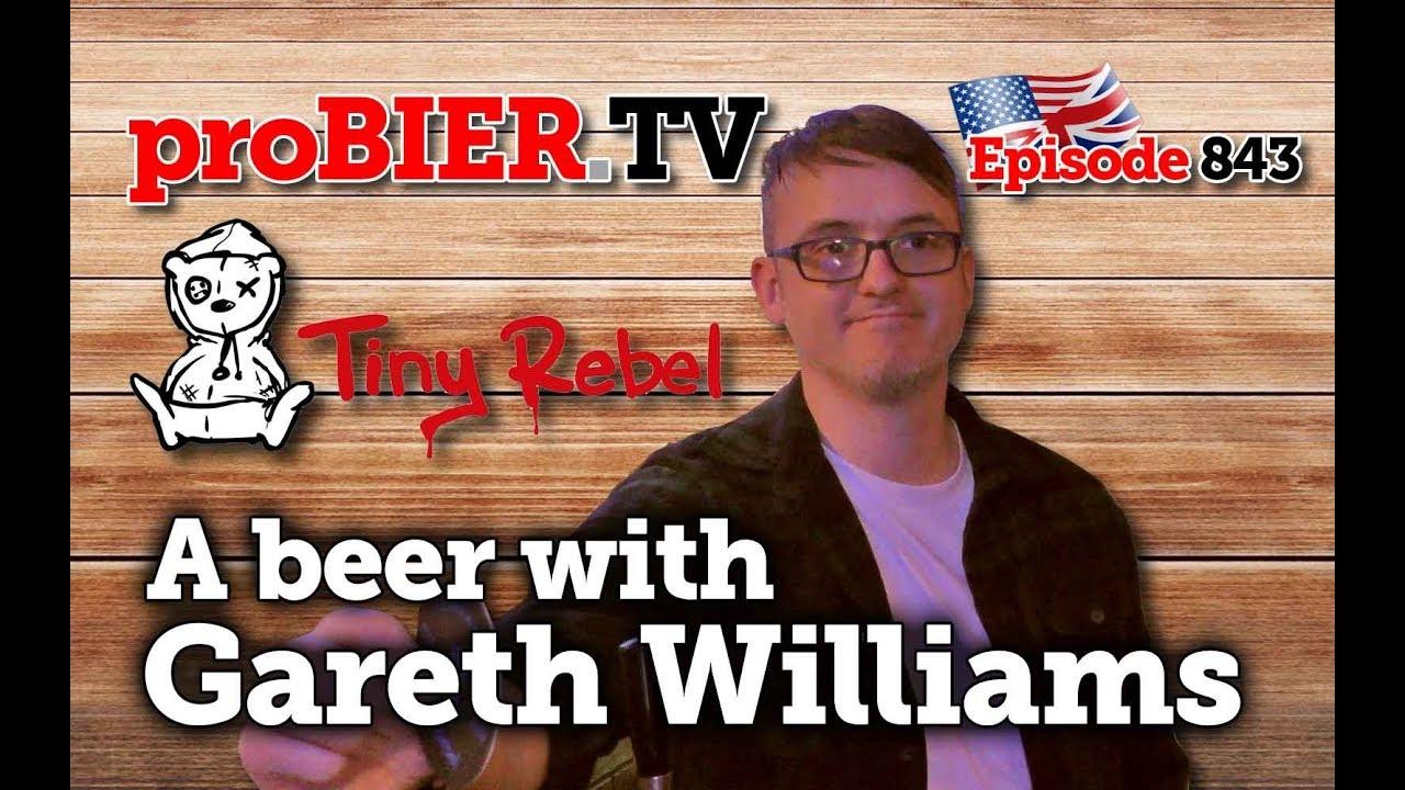 A beer with Gareth Williams of Tiny Rebel   proBIER.TV – Craft Beer Talk #843 [4K]