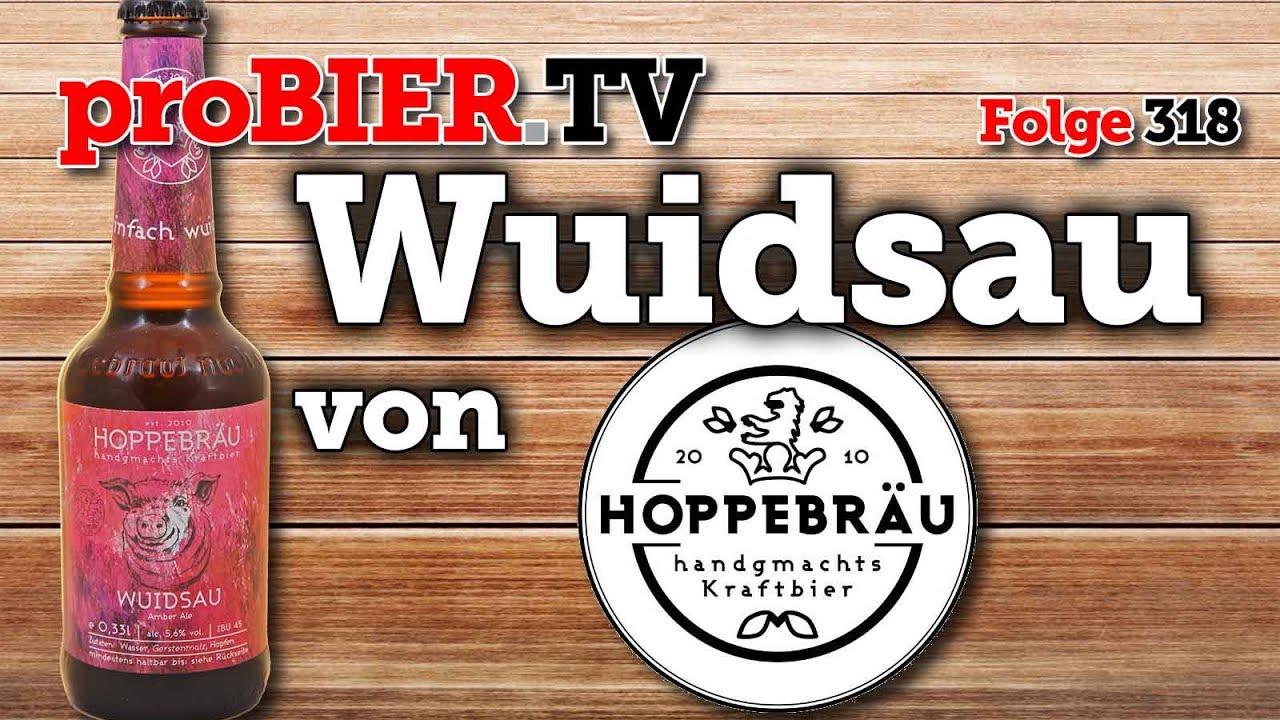 A guat bayerische Wuidsau – Hoppebräu