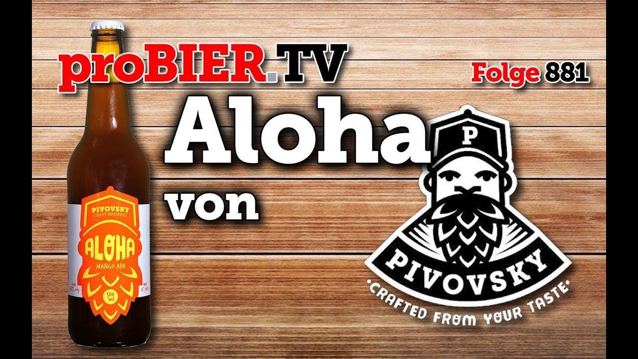 Aloha von Browar Pivovsky | proBIER.TV – Craft Beer Review #881 [4K]