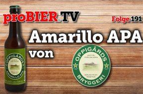 American Pale Ale aus Schweden – Oppigards Amarillo