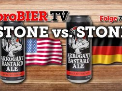 Arrogant Bastard – Stone vs. Stone | proBIER.TV – Craft Beer Review #796 [4K]