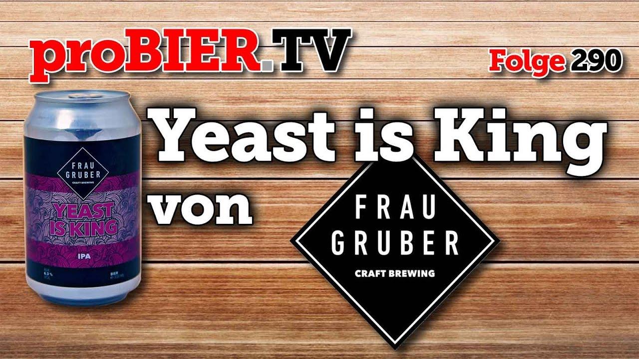 Bei Frau Gruber ist die Hefe König – Yeast is King!
