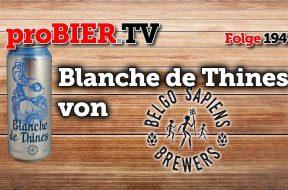 """Belgo Sapiens Brewers Witbier """"Blanche de Thines"""""""