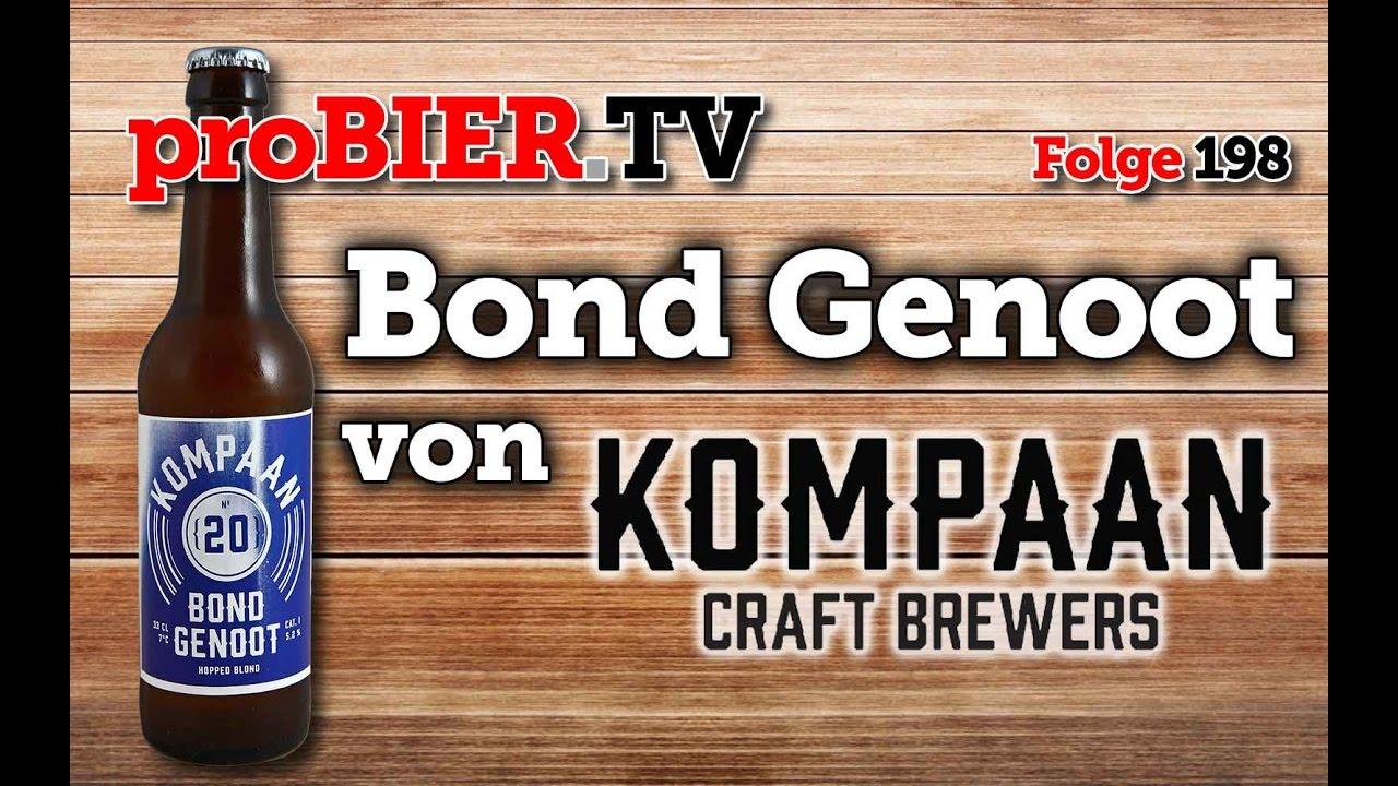 Bier vom Kumpel – Kompaan Bond Genoot