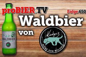 Biere der Wildnis: Wilde Kirsche im Waldbier 2017