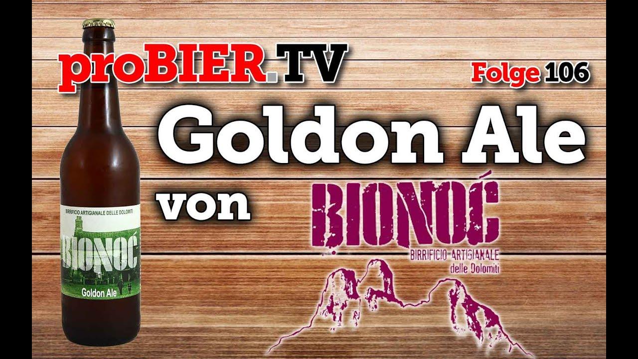 BIONOC – Goldon Ale aus den italienischen Dolomiten