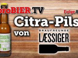 Citra Hopfen macht Pilsner einfach Laessiger