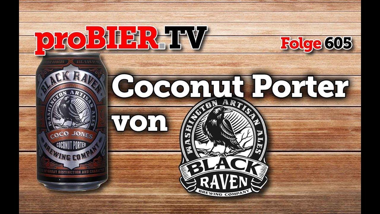 Coco Jones Coconut Porter von Black Raven   proBIER.TV – Craft Beer Review #605 [4K]