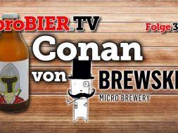 Conan der Barbar ist jetzt ein Brewski DIPA