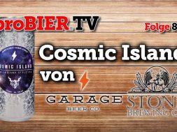 Cosmic Island von Stone & Garage Beer | proBIER.TV – Craft Beer Review #876 [4K]