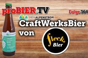Craft Werks Bier aus MeinAlpenstrom gebraut