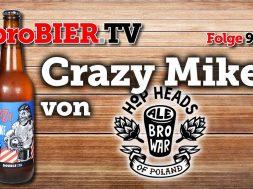 Crazy Mike von Ale Browar | proBIER.TV – Craft Beer Review #996 [4K]