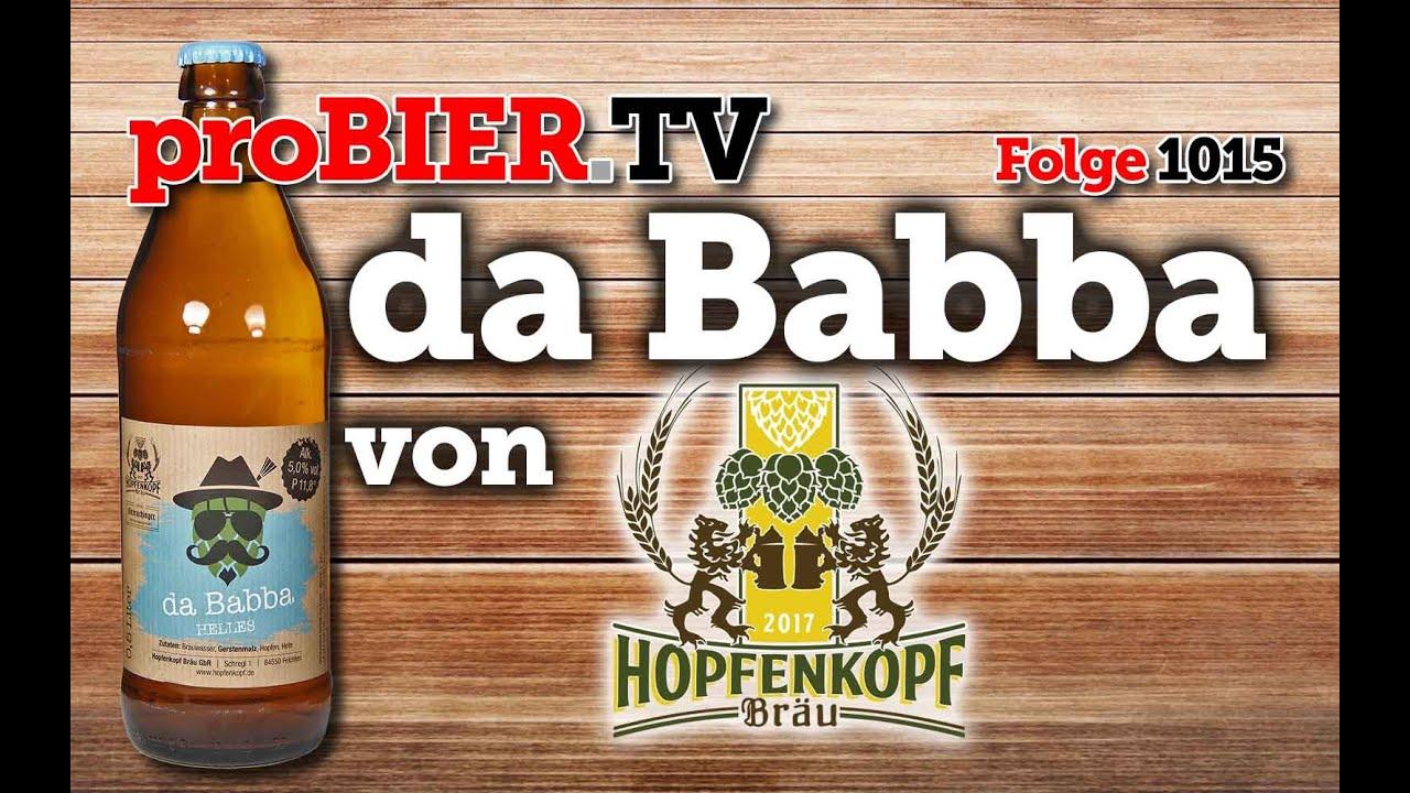 da Babba von Hopfenkopf | proBIER.TV – Craft Beer Review #1015 [4K]