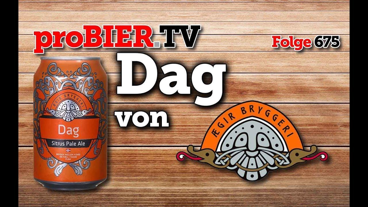 Dag von Aegir Bryggeri | proBIER.TV – Craft Beer Review #675 [4K]