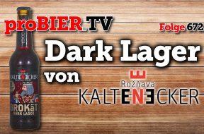 Dark Lager Brokat von Pivovar Kaltenecker