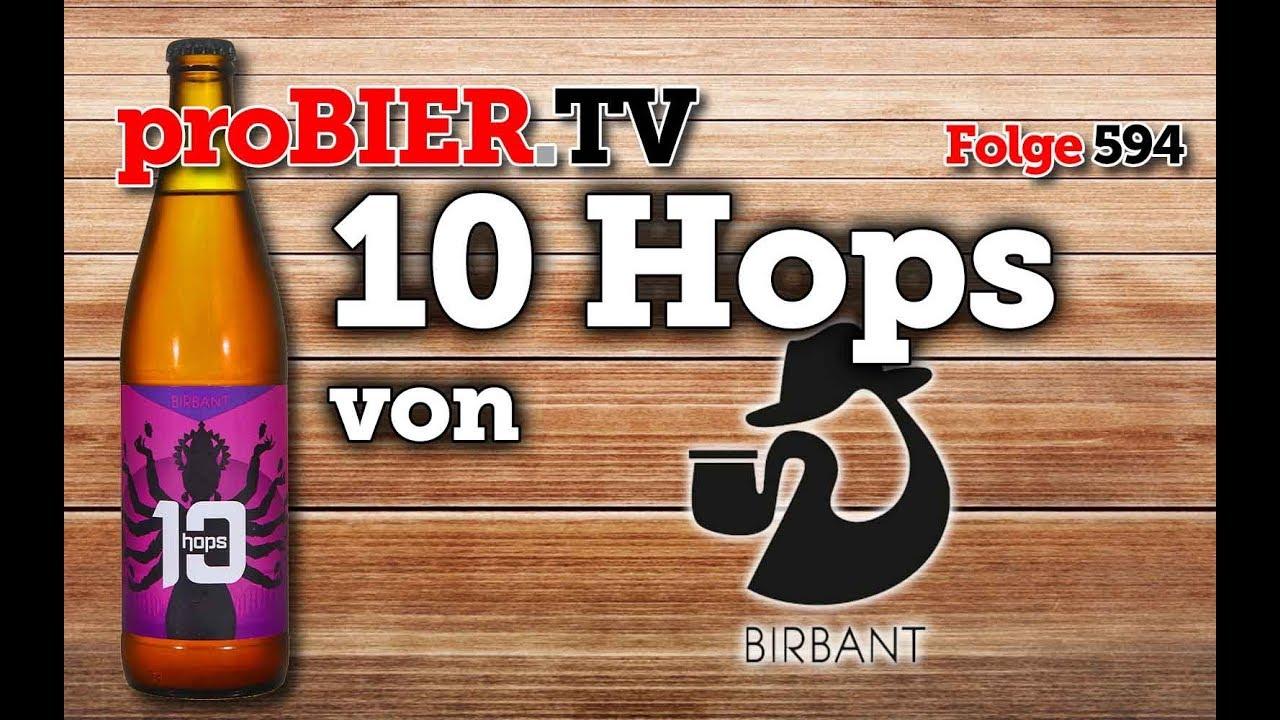Das Bier mit Hopfen – 10 Hops von Birbant