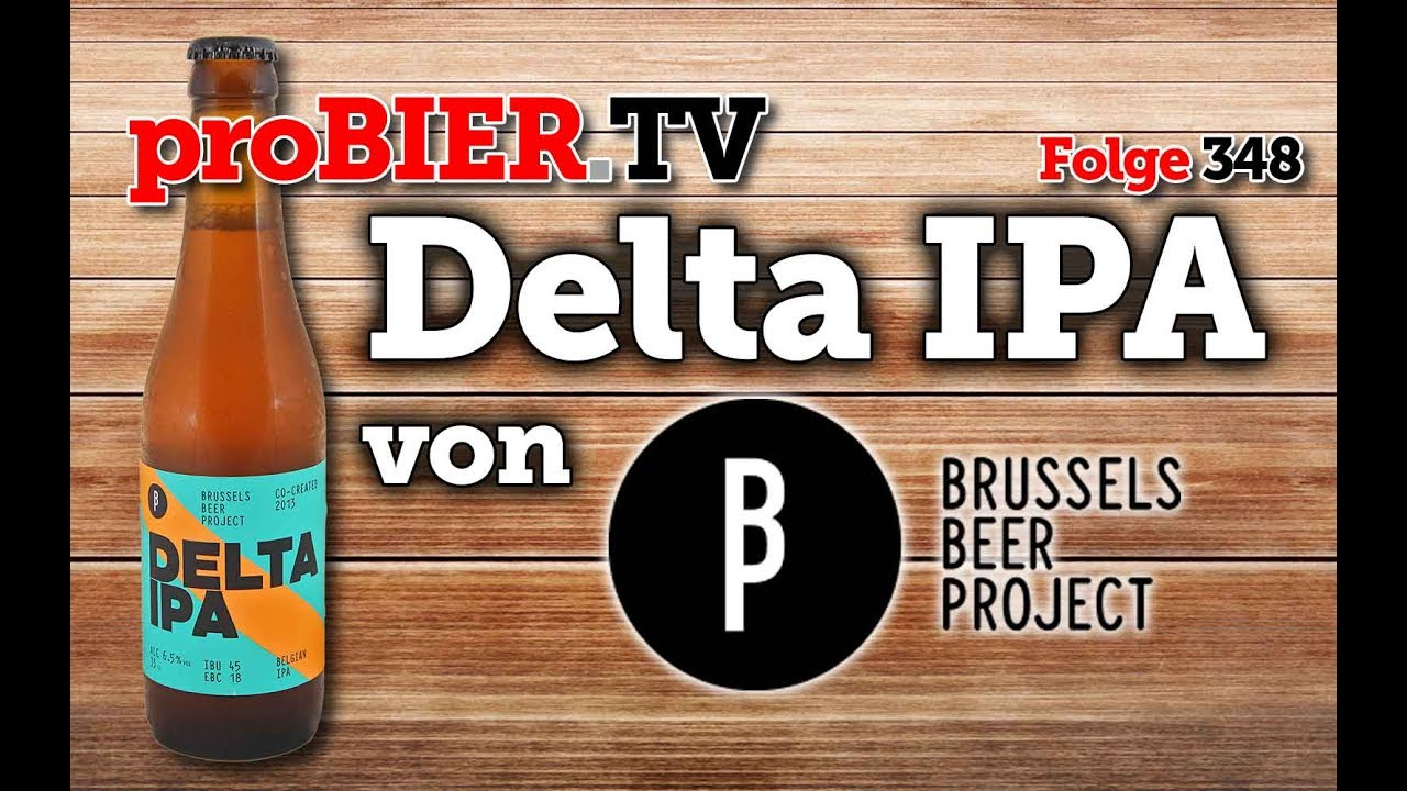 Das Delta IPA vom Brussels Beer Project