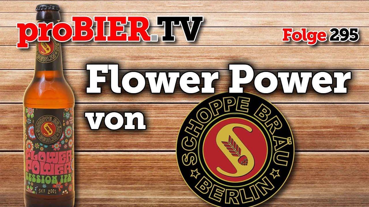 Der Berliner Bier Pate im Flower Power Modus
