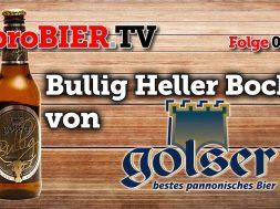"""Der Bock ist ein Bulle – Pannonia Brauerei Gols """"Bullig"""""""