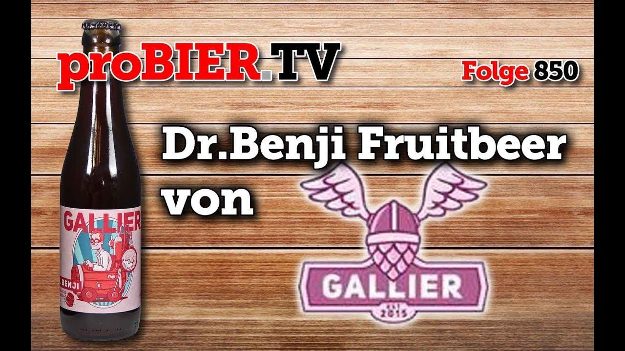 Der Gallier reift Dr.Benji im Holzfass