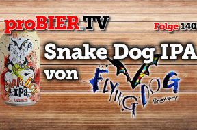 Doggystyle Bier: Snake Dog IPA von Flying Dog