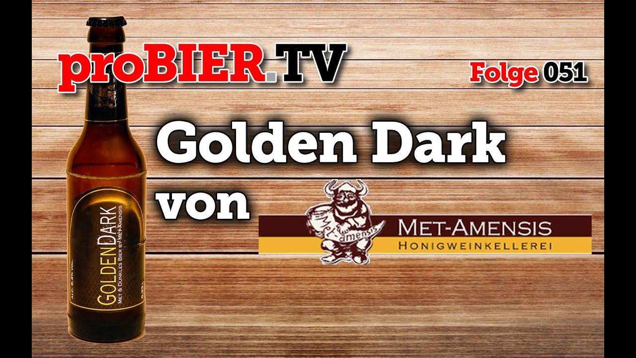 """Dunkles Bier mit Honig ist """"Golden Dark"""" – Das Mittelalterbier"""