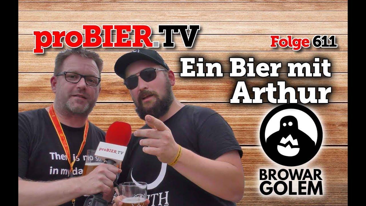 Ein Bier mit Arthur von Browar Golem | proBIER.TV – Craft Beer Review #611 [4K]