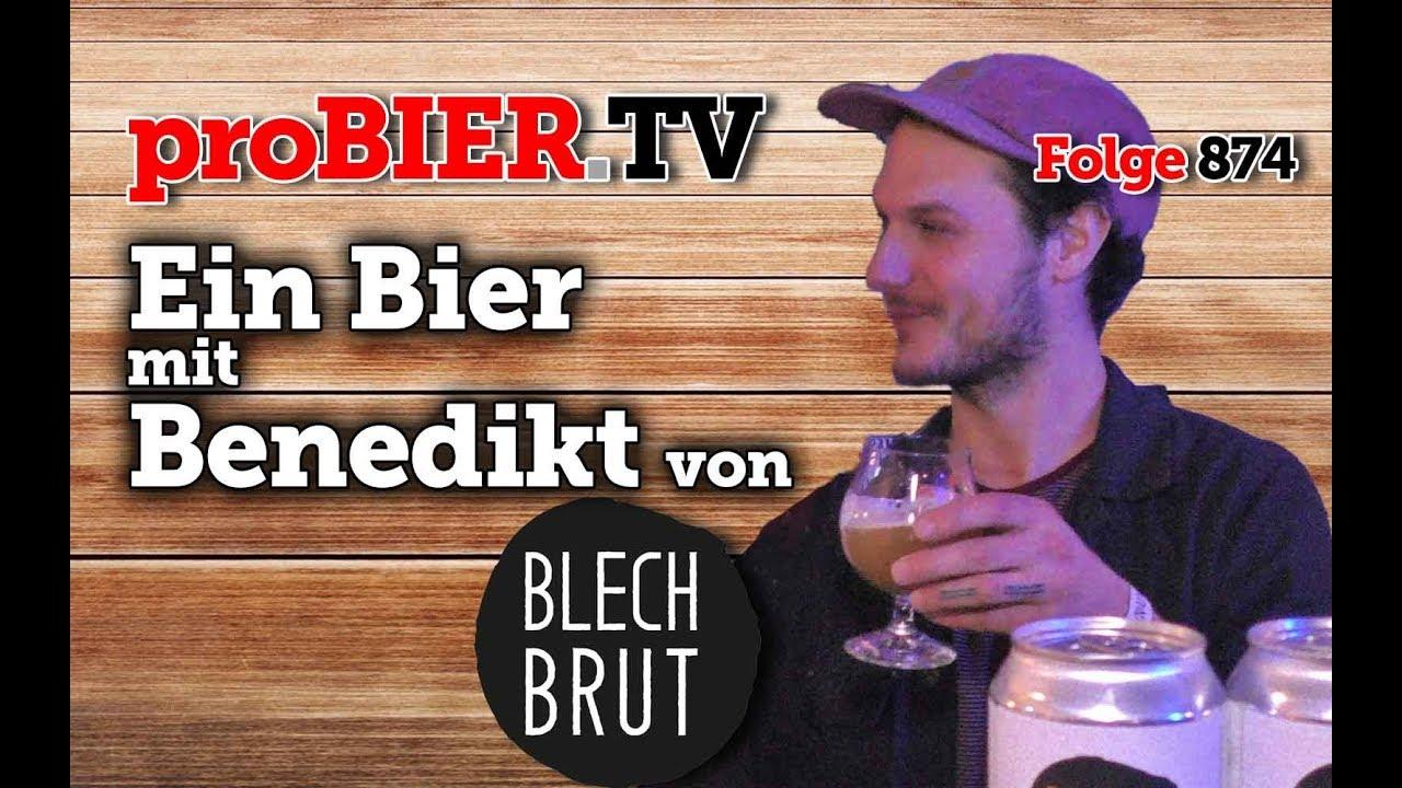 Ein Bier mit Benedikt von Blech.Brut
