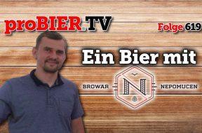Ein Bier mit Browar Nepomucen