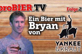Ein Bier mit Bryan von Yankee & Kraut